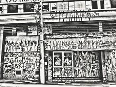 (Giovanne Ferreira) Tags: blackandwhite bw streetart ink graffiti arty wires pixo artonthewall