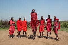 Guerreiros Maasai (dragoms) Tags: africa kenya warrior guerreiro maasaimara qunia dragoms