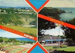 Pontins Dolphin Holiday Camp, Brixham (trainsandstuff) Tags: dolphinholidaycamp brixham devon pontins fredpontin vintage archival dolphin holidaycamp retro