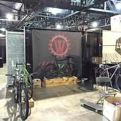 Cya in the morning! #phillybikeexpo #2015PBE #weavercycleworks #custombicycles