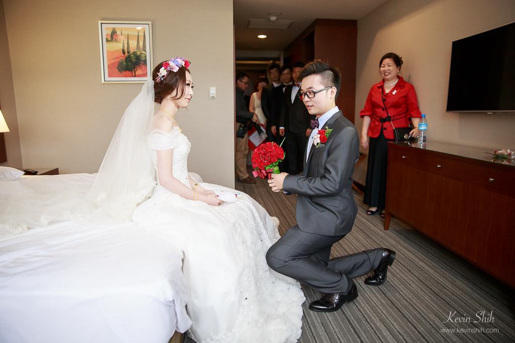 台北婚攝推薦-汐止富信飯店迎娶