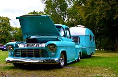 Chevy Stepside 3100. (Papa Razzi1) Tags: chevrolet chevy match 1956 camper meet 2015 6222 255365 classiccarsandcustoms2015 stepside3100