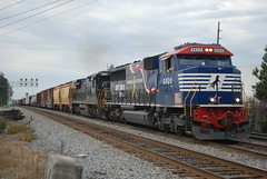 NS 118 10/31/15 (tjtrainz) Tags: our train ga georgia ns district norfolk southern division piedmont greenville veterans 118 manifest honoring doraville 6920 c408 840c sd60e