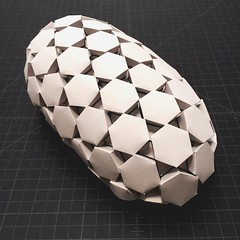 Hexagons (mike.tanis) Tags: art architecture design kirigami hexagons pill