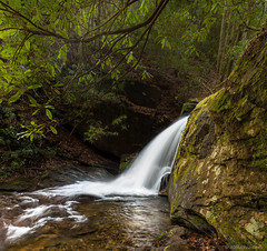 Dobbs Creek Falls (JBRazza Photography) Tags: georgia landscape riverslakesstreams treesflowersplants creek fall moss rocks stream water waterfall waterfalls razza jbrazza johnrazza