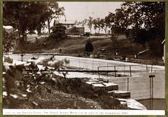 Ft Winnebago Locks and Indian Agency House, 1929