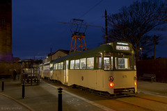 Twin Car 675 685 Pharos Street (Blackpool trams dalrigh) Tags: 675 685 blackpooltrams twincar ftschristmastour