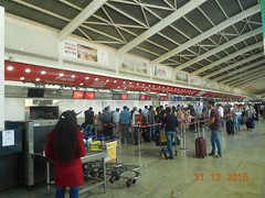 GBS at T1E Departure area. Panels (15) (Times OOH MIAL) Tags: gsb pannels t1edeparture