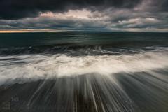 Seashore II (GenerationX) Tags: sea sky seascape water clouds landscape island evening scotland sand rocks waves unitedkingdom dusk scottish neil foam gb arran holyisland barr kintyre ayrshire dunure firthofclyde canon6d scartrock broadcraig dunurepoint