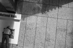 National Bank (Michael Goldrei (microsketch)) Tags: street camera leica old blackandwhite usa white man money black get history monochrome st america photography us photo downtown december photographer florida photos over machine bank 15 rangefinder dec system m cash national cameras series getting monochrom atm flagler bending cashmachine akademia rangefinders 2015 msystem mseries messsucher historymiami mspf miamistreetphotographyfestival mspf2015 historymiamiphoto