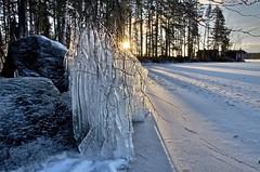 Ice formations 01 (ilpopaukkeri) Tags: winter ice suomi finland nikon raw talvi luonto d7000 jaa