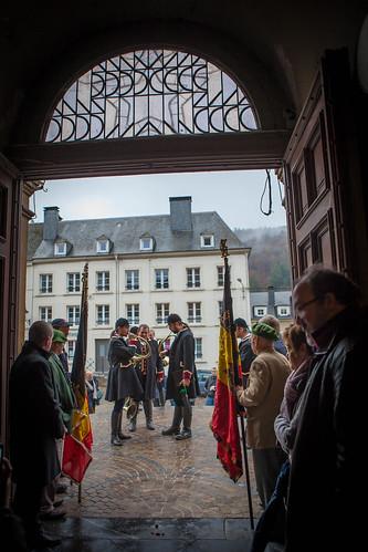 11/11/2016, messe patriotique, Bouillon, Belgique
