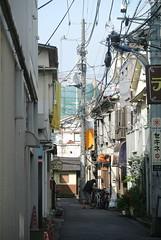 tokyo5972 (tanayan) Tags: urban town cityscape tokyo jyujyo japan nikon j1    road street alley