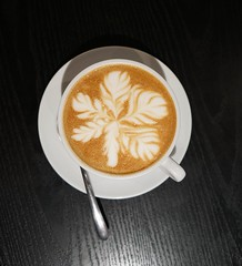 Coffee Art (Thomo13) Tags: ifttt 500px coffee black table latte art cafe life caffeine cup mug taipei taiwan artista perfecto java hot