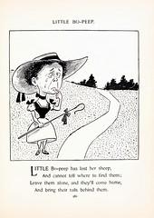 Mother Goose Rhymes (PrimeVintage1) Tags: nurseryrhymes mothergoose blackandwhite fopper