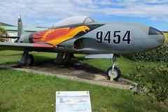 9454 Lockheed T-33 Muse Europen de l'Aviation de Chasse 15th June 2016 (_Illusion450_) Tags: arodromedancone montlimar museeuropendelaviationdechasse 9454 t33 shootingstar lockheed 150616 museum