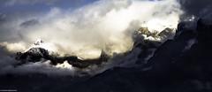 Stormy Summits (rogerarmfelt) Tags: switzerland sion sunlight clouds alps snow