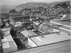 145; Elevated view of the Fairground, Centennial Exhibition - 1940 (Wellington City Council) Tags: wellington historicwellington 1800s 1900s 1950s