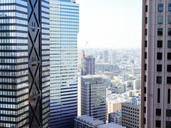 Nishi Shinjuku (Dick Thomas Johnson) Tags: japan tokyo shinjuku    nishishinjuku    shinjukumitsuibuilding mitsuibuilding     buildings skyscraper  architecture structure