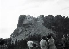 Mount Rushmore National Monument - South Dakota 1951 (bigjohn1941) Tags: mount rushmore national memorial south dakota