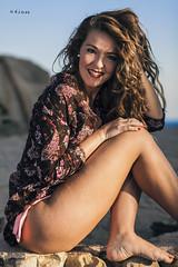 Alexandra Rocks IV (maikel_nai) Tags: girl model alexandragavira beach rocks flowershirt pinkbikini zaharadelosatunes playadelosalemanes bluesky water blueeyes redlips canon5d 85mm 2016 n4i n4ies2016alexandrasaragonzlezarenabikininegrobodynegrocamisacieloexteriorflashorillapauelophotoshootplayaplayadelosalemanespuestadesolreflectorreflejosrocasvestidorayaszaharabarbatecdizspain