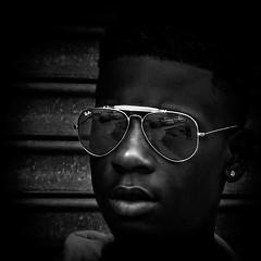 Jahshire #2, Martin Luther King Jr. Avenue, Historic Anacostia, Washington, DC (Gerald L. Campbell) Tags: alienation anacostia streetphotography street squareformat spirituality spiritualindifference socialdocumentary bw blackwhite blackmale citylife community dc washingtondc digital freedom historicanacostia martinlutherkingjravenue portrait portraitphotography reflections textures urban urbanphotography youth yearning yeswecan canonsx50hs