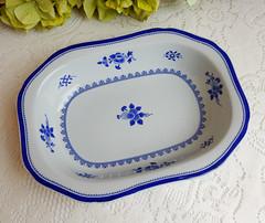 Spode Serving Bowl ~ New Stone ~ Gloucester Y2989 (Donna's Collectables) Tags: spode serving bowl new stone gloucester thanksgiving christmas