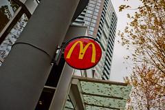 McDonald's (GoToVan) Tags: restaurant coffee cafe burgers mcdonalds robson fries