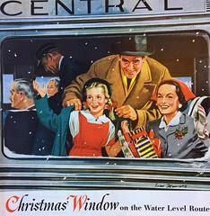 1950s Railroad Ad (Christian Montone) Tags: ads advertising vintageads adverts vintage print printads 1950s midcentury