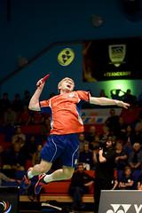 NBLmatch-5100-0331 (University of Derby) Tags: 5100 badminton nbl sportscentre universityofderby match