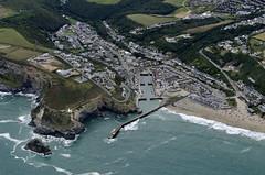 Portreath in Cornwall - aerial view (John D F) Tags: portreath harbour cornwall port coast aerial aerialphotography aerialphotograph aerialview aerialimage aerialimagesuk