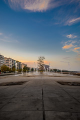 """Umbrellas"" in Thessaloniki (dimitrisrentis) Tags: hellas thessaloniki makedonia sky street scenery view beauty buildings blue water nikon d5200 colour city colourful clouds pavement port marine umbrellas fountain macedoniagreece timeless macedonian"