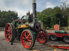 Little Audrey (Ben Matthews1992) Tags: foxfield railway gala preservation preserved steam road traction engine old vintage historic vehicle transport classic staffordshire daveypaxman paxman 6nhp af3373 1911 11849