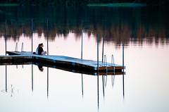 Wiks slott, July 2, 2015 (Ulf Bodin) Tags: zen sverige peaceful reflection spegling mlaren outdoor quiet canoneos5dmarkiii summer canonef70200mmf28lisiiusm sj brygga jetty sweden lake wiksslott mlaren sj uppsalaln se
