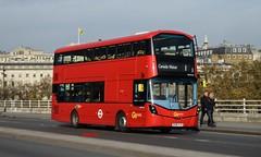 WHV145 Go-Ahead London (KLTP14) Tags: whv145 goahead london wrightbus gemini3 1 mw waterloo bv66vjd