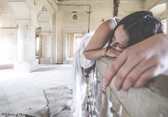 Sleep tight... (C O L O U R S O F D E C A Y) Tags: abandoned abandonedplaces urbex urbanexploration woman decay forgotten lost castle girl