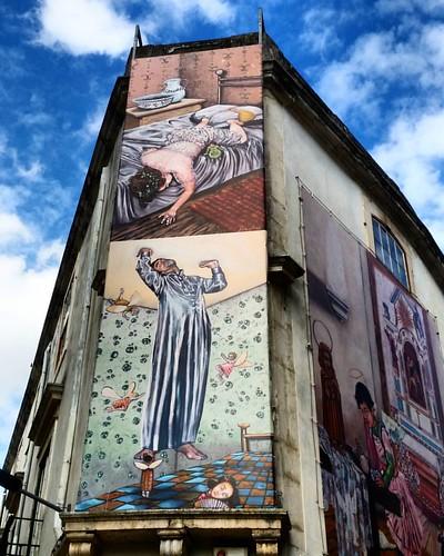 Arte na rúa #leiria #portugal #nortedeportugal #galizadosul #artecallejero #artenarua #galegospolomundo #instagood #instagramers #viajar #viaxar #voyage