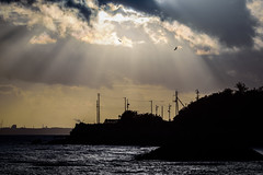 Sunshine returns (kurumaebi) Tags: yamaguchi  nikon d750  nature landscape sea   wave  cloud
