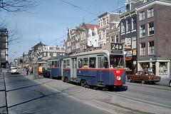 Vijzelgracht (Tim Boric) Tags: amsterdam vijzelgracht tram tramway streetcar strassenbahn drieasser gvb