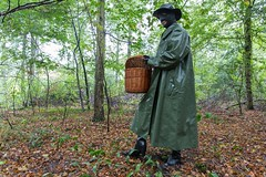 5DA07430_Gummimantel_gruen_kl (helani44) Tags: gummimantel gummistielel outdoor gummicape gummhandschuhe regenmantel gummihut regenhut