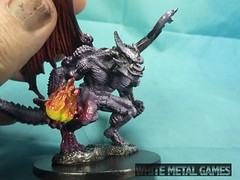 Reaper Demons, yet again (whitemetalgames.com) Tags: reaper bones demons daemons devil devils demon daemon fantasy figures slaadi slaad toad balor balrog pit fiend gargoyle wmg white metal games raleigh nc north carolina commission painting paintes service hobby