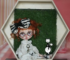 LDOLL FESTIVAL 2016 PREVIEW Miss Fanfan n°12/12 Handmade custom Blythe Art doll version