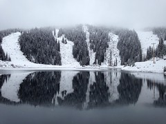 Gem Lake on November 1 (jjdorsey57) Tags: bc jjdorsey57 bigwhite gemlake