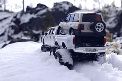 Ford F-350 6 door 6wd 32 (My Scale Passion) Tags: ford f350 meng monogram losi micro mini crawler scale rc modeling custom snow snowrun crawling climbing expedition northpole southpole truck double dual dually duallie 6door 10wd 10x10 125 124 miniz overland landcruiser build