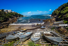 DSC01673 (Damir Govorcin Photography) Tags: boats water landscape gordons bay sydney sky clouds cliff rocks natural light zeiss 1635mm sony a7ii nsw australia