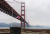 american pride.! (carlosj3200) Tags: beach cali california eeuu ocean sky sun usa bridge goldengate blackandwhite red way