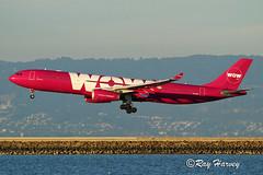 WOW Air @SFO (320-ROC) Tags: wow wowair tfgay airbusa330 airbusa330300 airbusa330343 airbus a330 a330300 a330343 a333 ksfo sfo sanfranciscointernationalairport sanfranciscoairport sanfrancisco