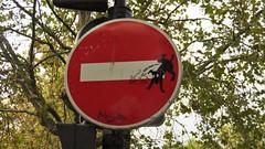 CLET / Paris - 21 oct 2016 (Ferdinand 'Ferre' Feys) Tags: paris france streetart artdelarue graffitiart graffiti graff urbanart urbanarte arteurbano clet ferdinandfeys