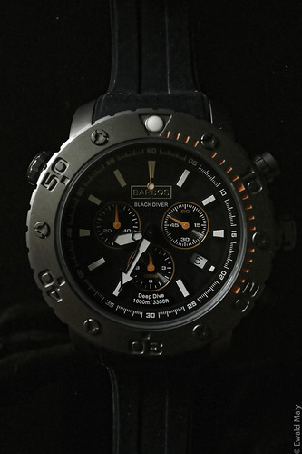Deep diver watch