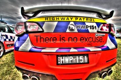 There is no excuse. (Ian Ramsay Photographics) Tags: portmacquarie newsouthwales australia highwaypatrol car